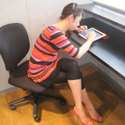 集中力が驚くほど継続する!腰痛しらずの正しい座り方