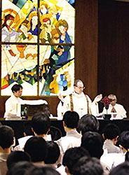 カトリック系の新設校、洛星中学