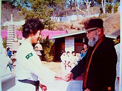 少林寺拳法の創始者 宗道臣先生と