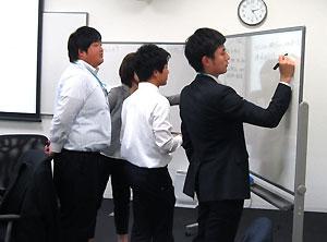 営業部門若手社員への研修