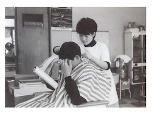 日本一の理容師を目指していた頃