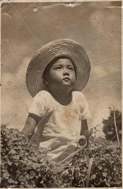 中島会長5歳の夏