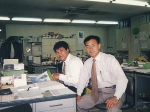 東京日産の営業所で