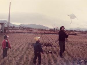 滋賀県の田園地帯
