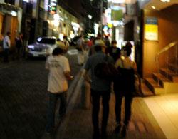 東京の下宿は、六本木の榎坂