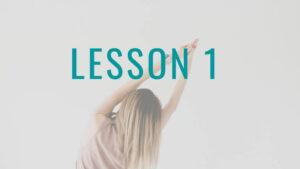 姿勢の達人Lesson1