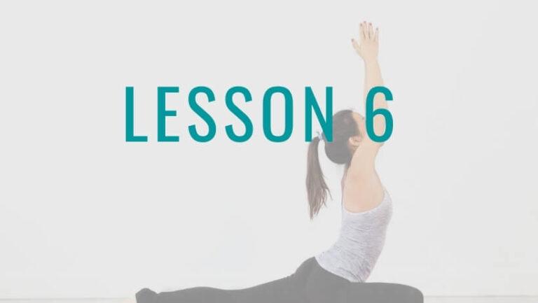 姿勢の達人Lesson6